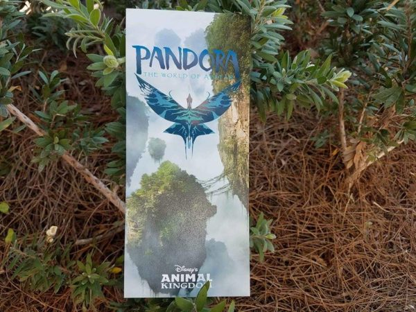 First Look at the New Animal Kingdom GUIDEMAP and New Pandora - The World of Avatar Guide 5