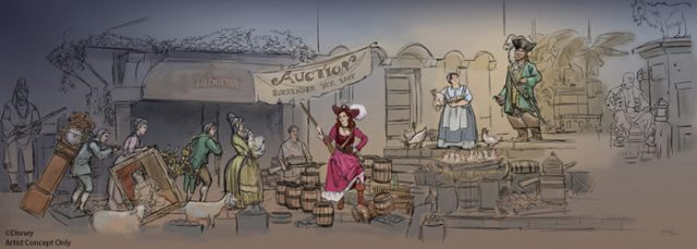Petition Launched to Keep Wench Auction Scene in Pirates of the Caribbean 1