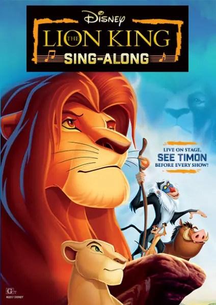 Lion King Sing-Along