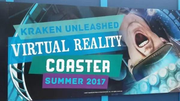 Experience 'Kraken Unleashed' Sea World Orlando 1