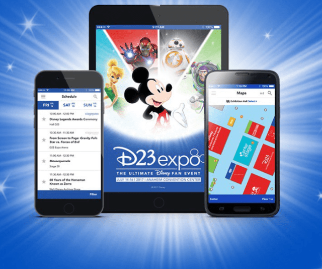 D23 Expo 2017 Official Mobile App Has Been Released 1