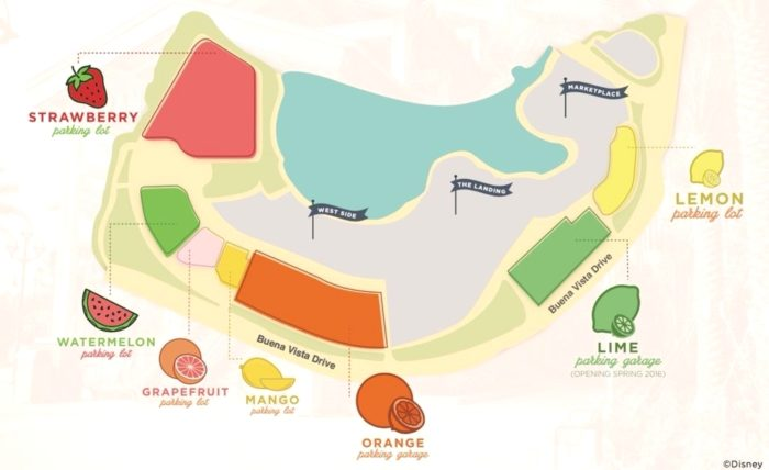 Preferred Parking Changes Coming to Disney Springs 1