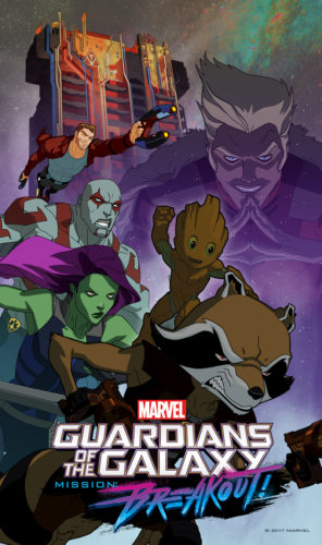 News on Season Three of 'Marvel's Guardians of the Galaxy' and a 'Guardians of the Galaxy'/LEGO Collaboration Announced at #D23Expo 1