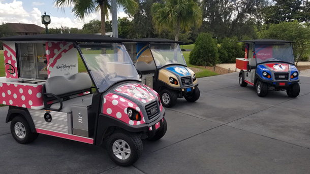 Refreshment Carts At Disney World Golf Courses Are Getting Character Makeovers 2