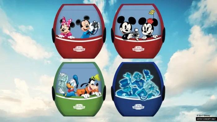 Gondolas and Minnie Vehicles Coming To Walt Disney World Resort 2