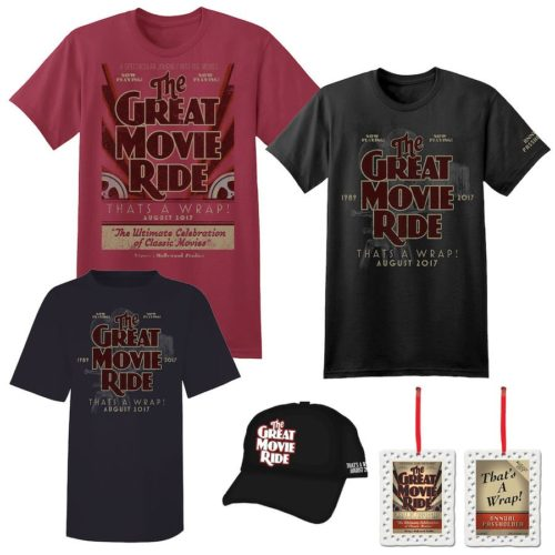 """The Great Movie Ride Farewell Merchandise """"That's A Wrap"""" 1"""