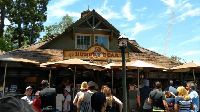 Check out the Lunch Menu for Hungry Bear in Disneyland's Critter Country 1