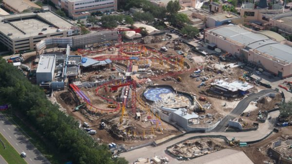 Toy Story Land Construction Update: Slinky Dog Coaster's First Theming Added 1