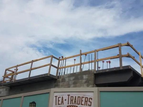 Construction Update on Wine Bar George in Disney Springs 3