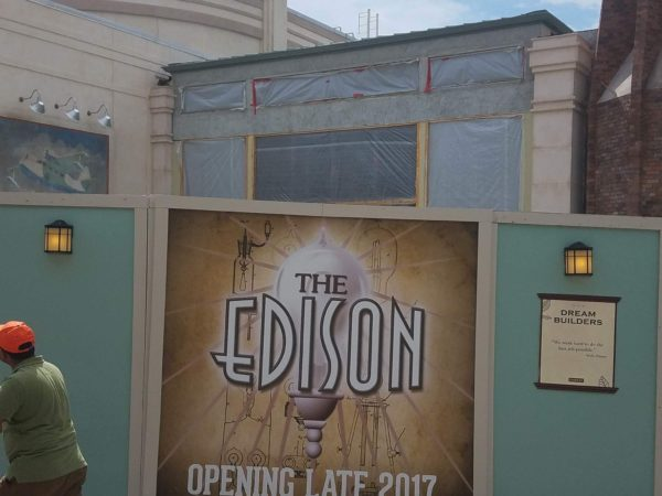 Photo Update on Construction of The Edison in Disney Springs 5