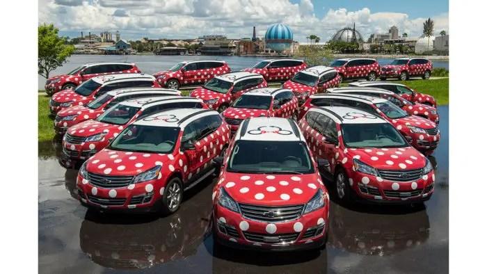Disney World's Minnie Van Service Expands Its Reach to Pop Century Resort 1