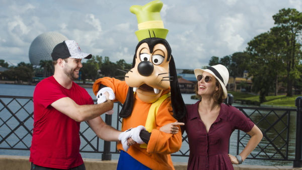 Cobie Smulders and Taran Killam were Recently Spotted Goof-ing Around at Epcot 1