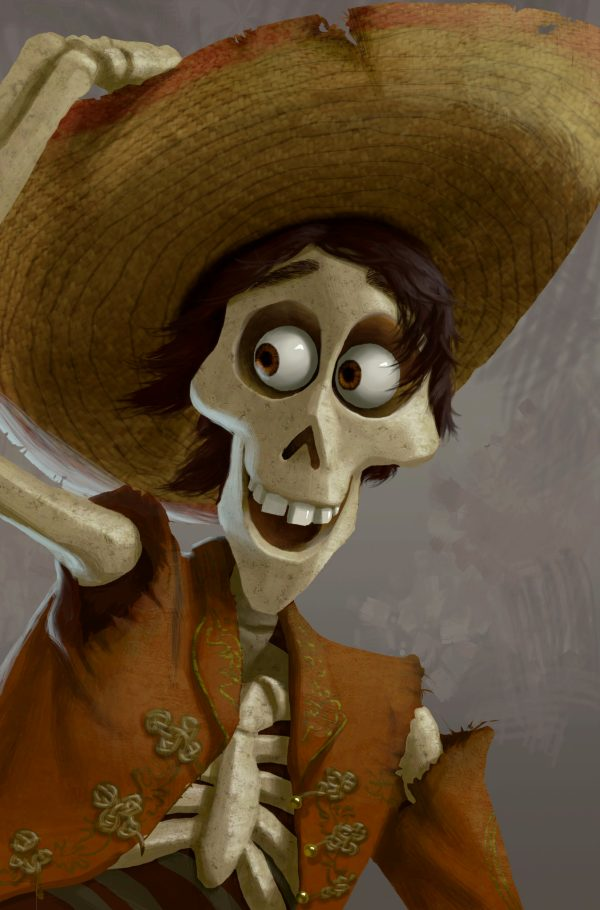 Pixar39s Coco crosses paths between the Land of the Living