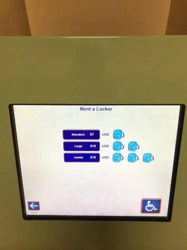 New Digital Locker System Installed at Magic Kingdom 4