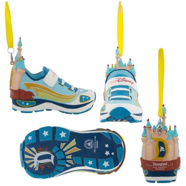 2017 Super Heroes Disney Run Half Marathon Shoe Ornament