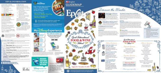 Food & Wine Guide Map