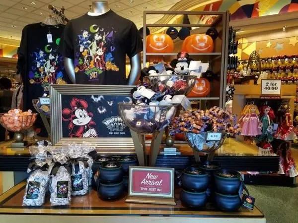 Halloween merchandise