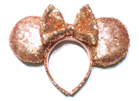 Get Your Rose Gold Minnie Ears Fix With These Handmade Beauties 5