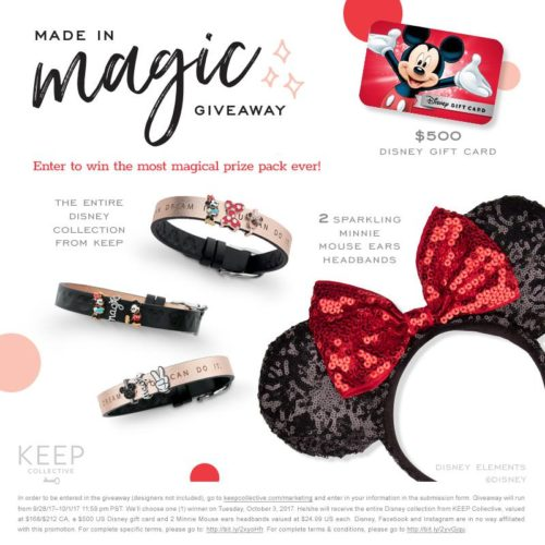Keep Collective Disney Giveaway