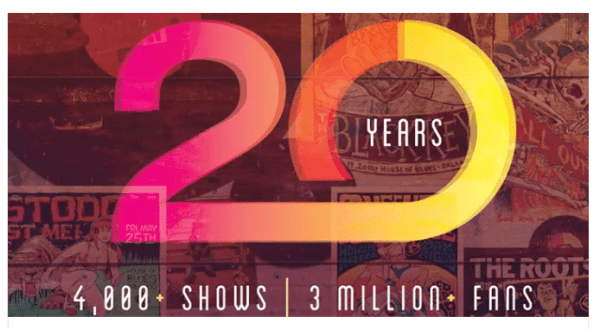 House of Blues Orlando Celebrates 20th Anniversary with a Rockin' Giveaway 1