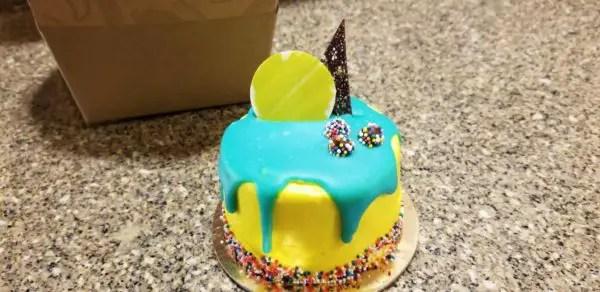 Cool Celebrate At Walt Disney World With Individual Confetti Cakes Funny Birthday Cards Online Elaedamsfinfo