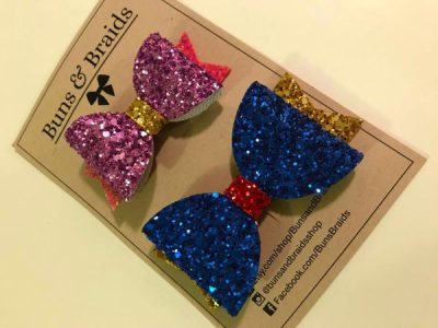 These Sparkly Disney Character Bows are Full of Shimmer and Sass 1