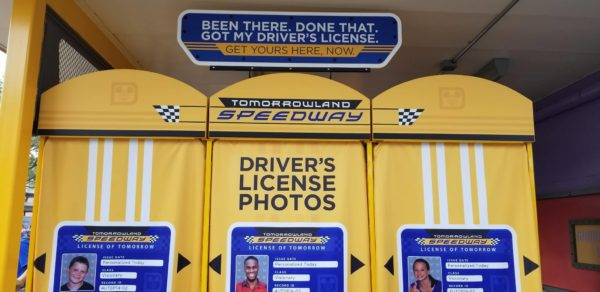 You Can Now Get Your Very Own Tomorrowland Speedway Driver's License 1