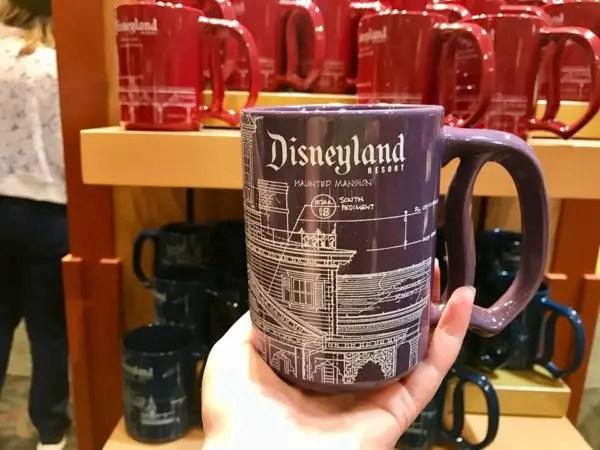 Disneyland Attraction Blueprint Mugs