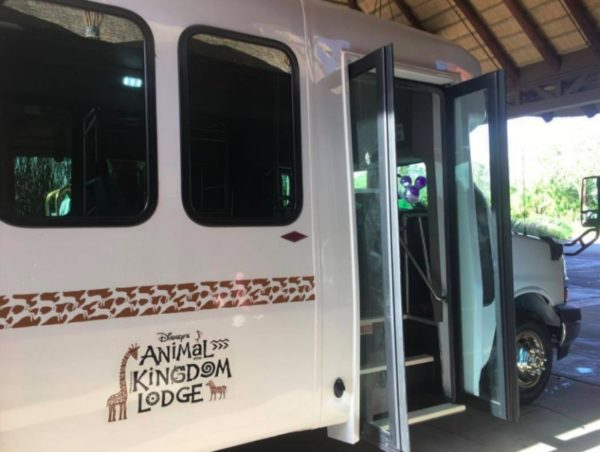 New Internal Bus Service Added Between Jambo House and Kidani Village at Animal Kingdom Lodge 1