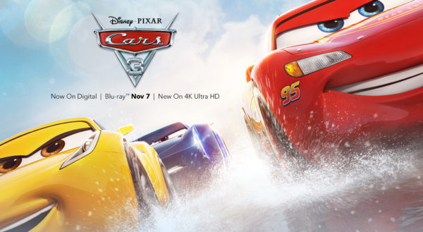 Cars 3 Now Available onDigital & Streaming
