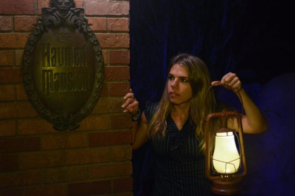 Fun Haunted Mansion Photo Opportunity at Mickey's Not-So-Scary Halloween Party 1