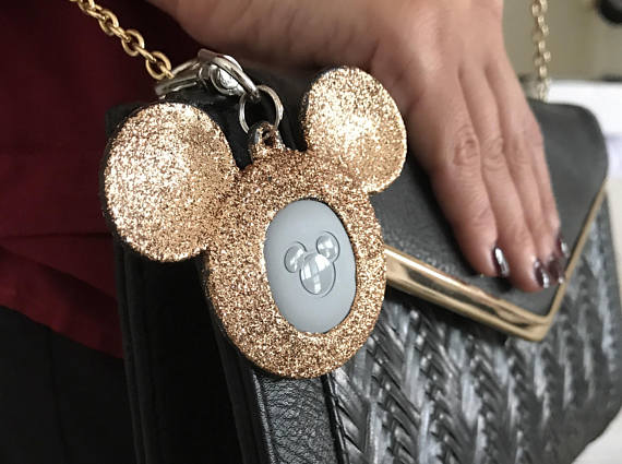 Rose Gold Mickey MagicBand Keeper