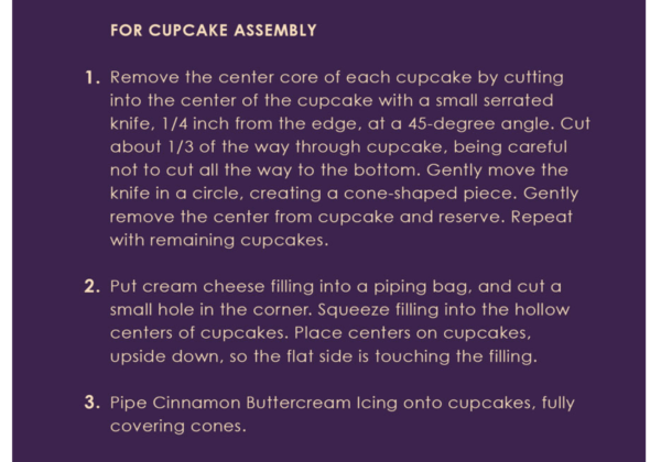 Contempo Cafe's Pumpkin Cupcake Recipe is Spooky Good! 5