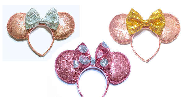 Sparkly Minnie Mouse Ears