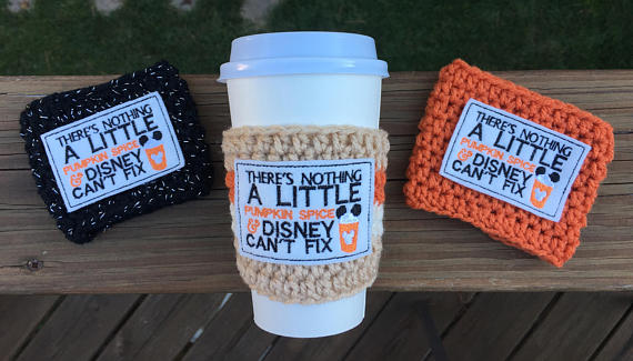 Disney cup cozies