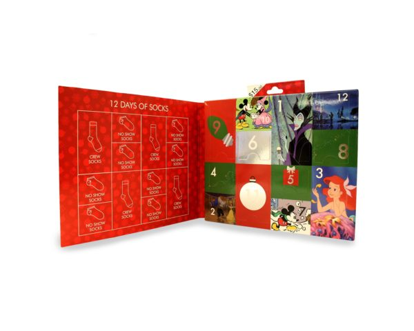 Disney 12 Days Of Christmas.Celebrate 12 Days Of Christmas With A Disney Sock Advent