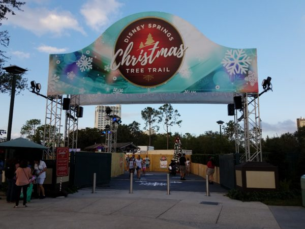 Disney Springs 2017 Christmas Tree Trail Photo Tour 1