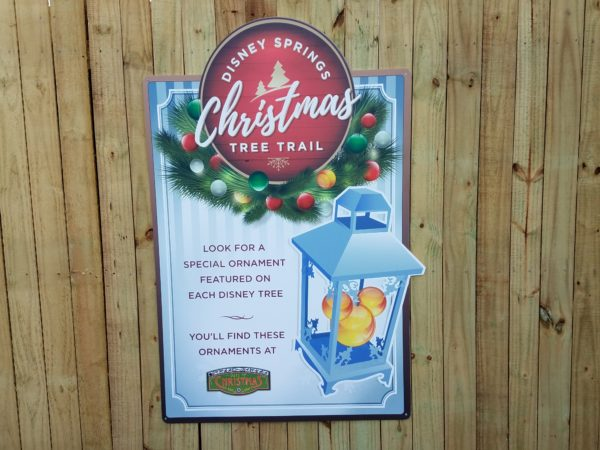 Disney Springs 2017 Christmas Tree Trail Photo Tour 2