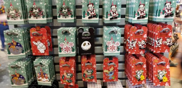 New Christmas Disney Trading Pins