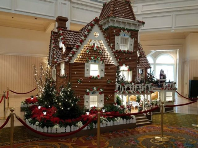Fantastical Gingerbread Display at the Grand Floridian Resort and Spa 1