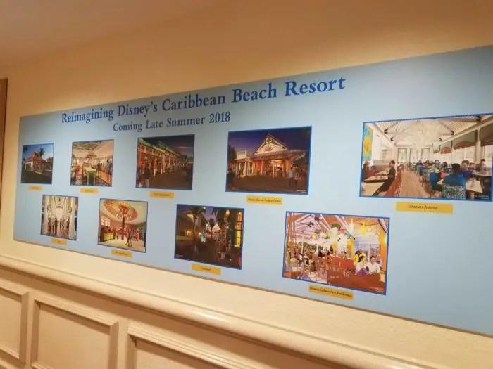 Construction Progress at Caribbean Beach Resort 1