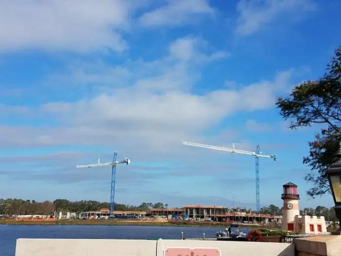 Construction Progress at Caribbean Beach Resort 2