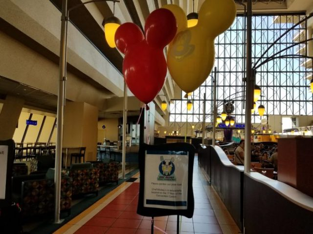 Chef Mickey's Temporarily Relocated To Convention Center During Refurbishment 1
