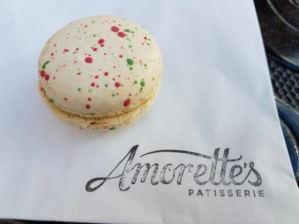 Peppermint Macaron At Amorette's Patisserie Is The Perfect Holiday Snack 1