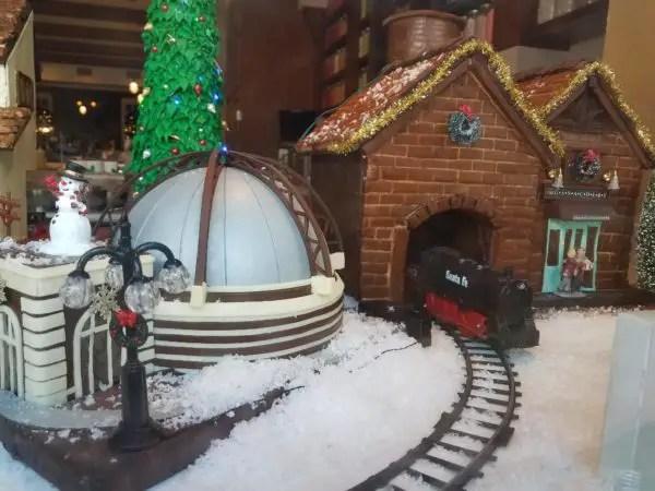 New Gingerbread Window Display at Amorette's Patisserie in Disney Springs 3