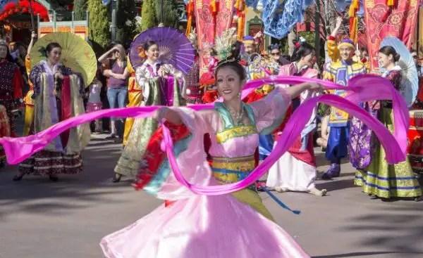 Celebrate the Lunar New Year Festival At Disney California Adventure 1