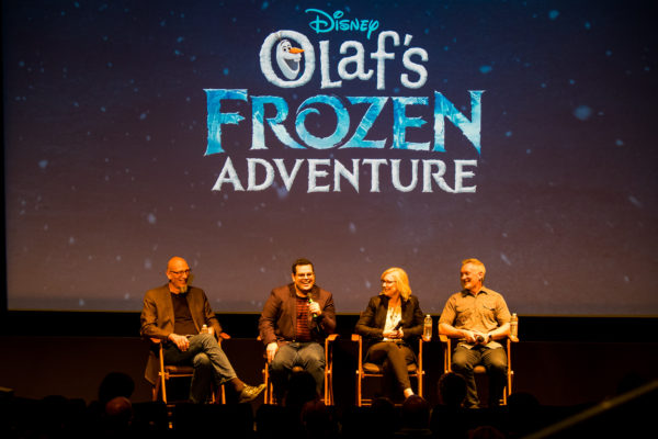 Celebrate the Holidays with Olaf's Frozen Adventure! 2