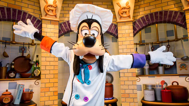 Magical Mealtimes With Favorite Disney Characters at Disneyland 1