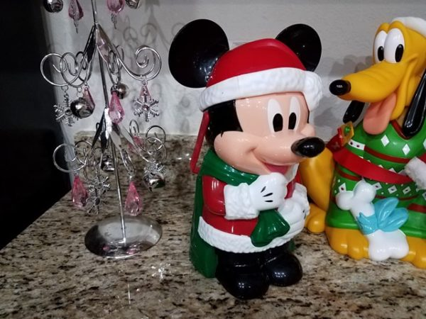 Santa Mickey Popcorn Bucket