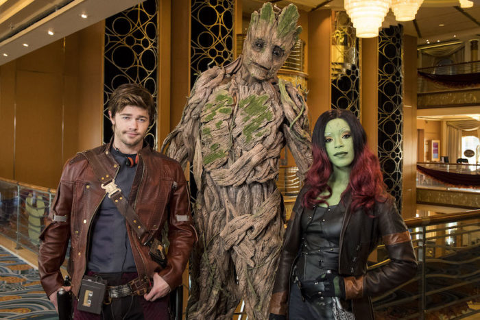 Groot Marvel Day At Sea
